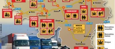 Yvelines : devenue lieu de rencontre gay, une aire d'autoroute a été fermée