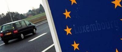 voitures immatricul es au luxembourg pr ter la voiture est interdit. Black Bedroom Furniture Sets. Home Design Ideas