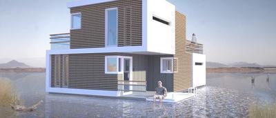 Un Architecte Neerlandais Invente La Maison Speciale Divorce Divisible En Deux Blocs Sudinfo Be